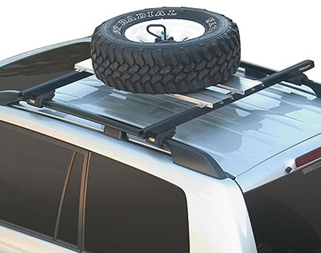 Accessories and Parts RPWC - Spare Tire Carrier - Rhino Rack