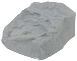 "Race Ramps Race Rock for Vehicle Display - 2,500 lbs - 14"" Tall - Riverbed - Qty 1"