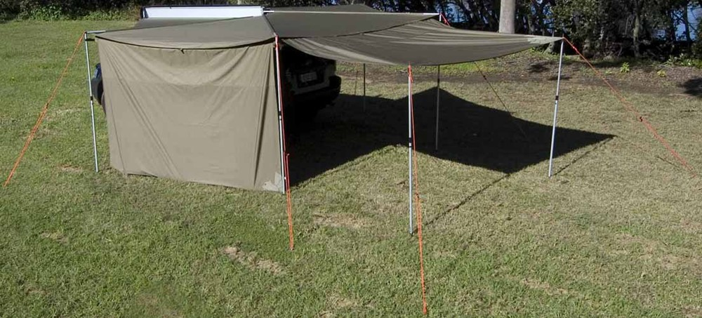Extension Piece For Rhino Rack Foxwing Awning 48 Sq Ft
