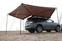 Rhino-Rack Batwing Awning - Roof Rack Mount - Bolt On - Passenger's Side - 118 Sq Ft