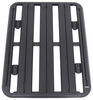 "Rhino-Rack Universal Pioneer Platform Rack for Crossbars - Aluminum - 48"" Long x 38"" Wide Square Bars,Round Bars,Factory Bars,Aero Bars,Elli"