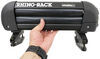 rhino rack vehicle fishing rod holders 4 rods rr572