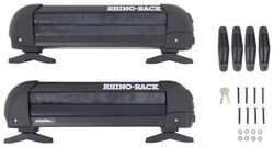 Rhino-Rack Ski and Snowboard Carrier - Locking - 3 Skis or 2 Boards