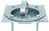 Brophy Swiveling D-Ring Anchor w Backing Plate and Hardware - Bolt-On - Recessed Mount - 2,000 lbs D-Ring RR6K