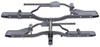 RRRBC048 - Fits 1-1/4 Inch Hitch,Fits 2 Inch Hitch,Fits 1-1/4 and 2 Inch Hitch Rhino Rack Platform Rack