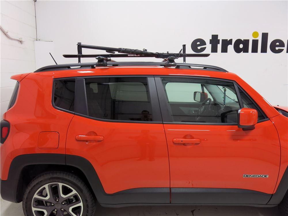 Rhino Rack Hybrid Roof Bike Rack for Fat Bikes Wheel