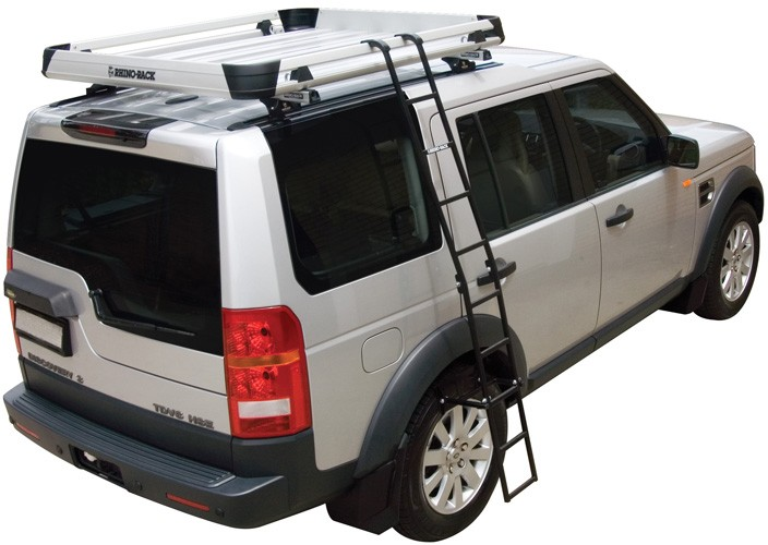 Folding Ladder For Rhino Rack Alloy Trays And Wire Mesh