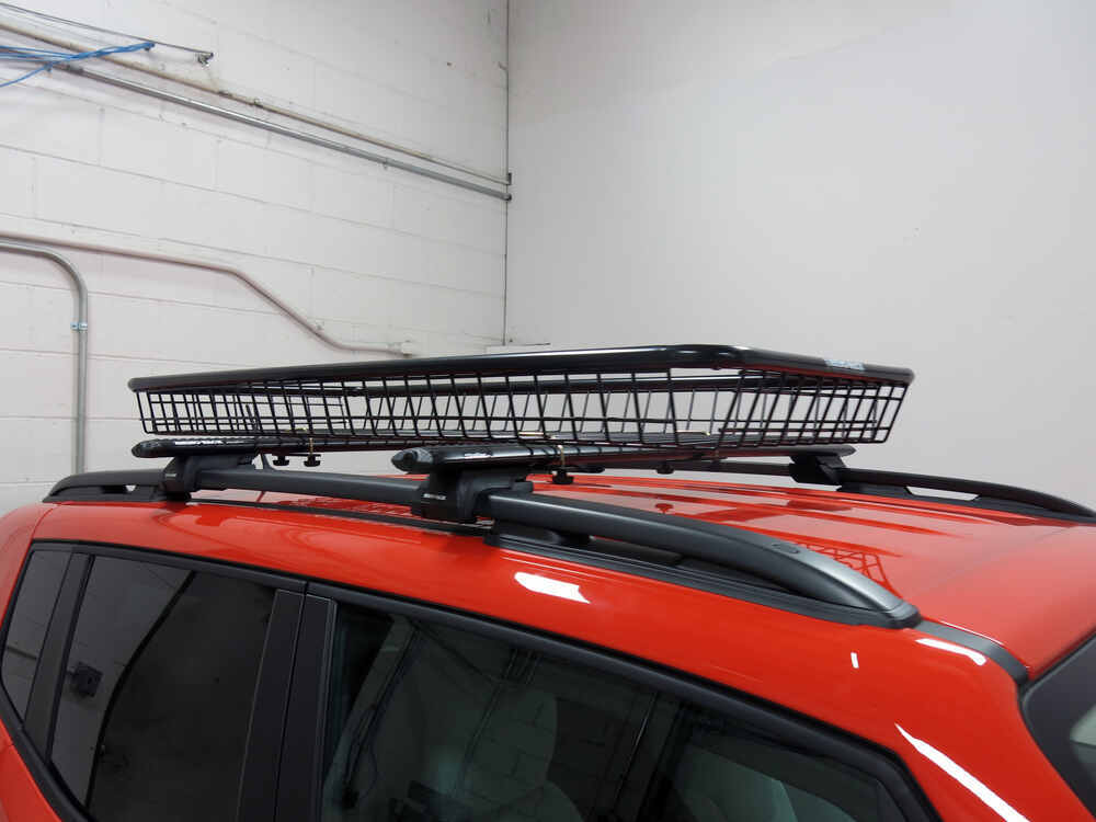 rhino rack roof cargo basket for aero style crossbars. Black Bedroom Furniture Sets. Home Design Ideas