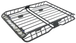 "Rhino-Rack XTray Pro Cargo Basket and 2 Bike Carrier - Steel - 58-1/4"" x 41"" - 165 lbs"