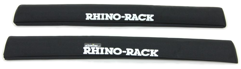 "Rhino-Rack SUP and Surfboard Pads w/ Tie-Downs for Crossbars - Universal - 27-1/2"" Long - Qty 2 Crossbar Pads RRRWP04"