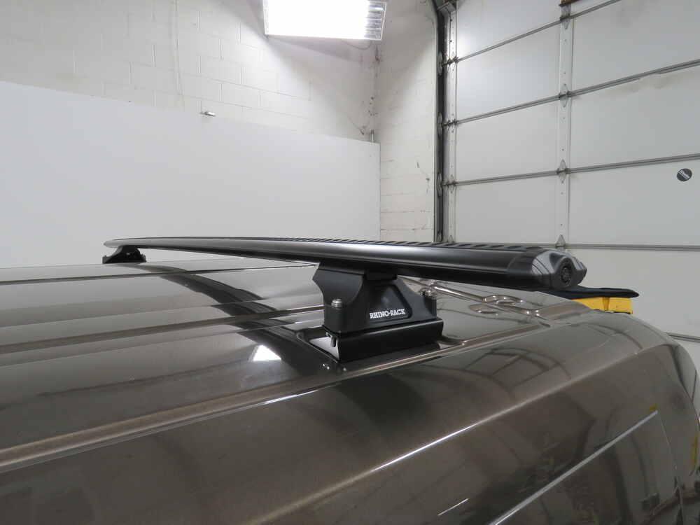 Rhino-Rack Vortex Aero Crossbars - Aluminum - Black - 71