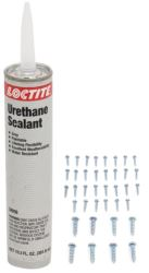 Installation Kit - for Ventline Ventadome Trailer Roof Vents - with Screws and Sealant