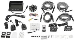 Wiring diagram for the rear view safety backup camera rvs 062710 rear view safety backup camera system 4 camera setup quad view monitor asfbconference2016 Gallery