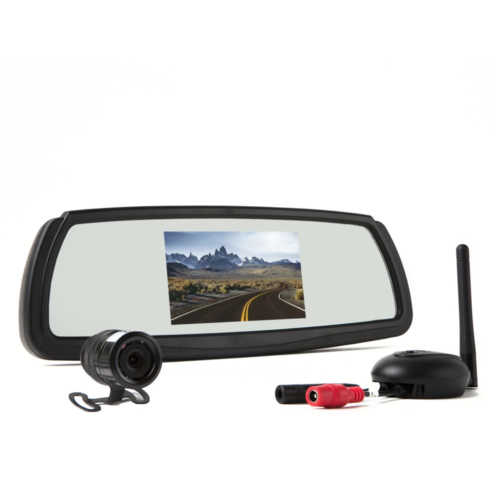 rear view safety wireless backup camera system 4 3. Black Bedroom Furniture Sets. Home Design Ideas