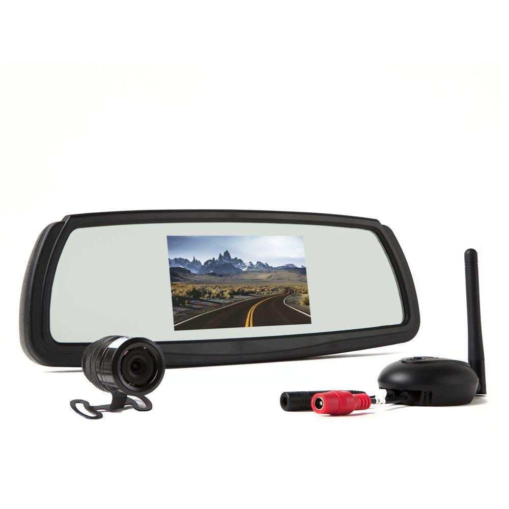 Rear View Safety Wireless Backup Camera System 4 3