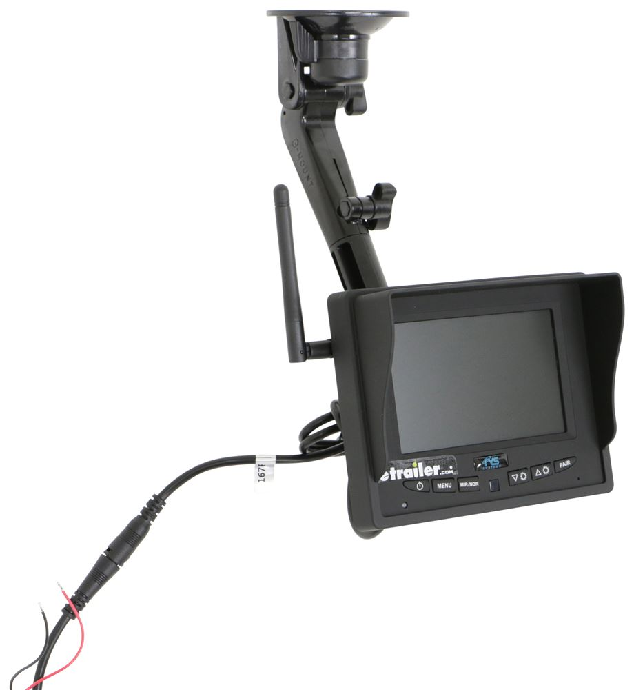 Peak Wireless Backup System on backup camera chart