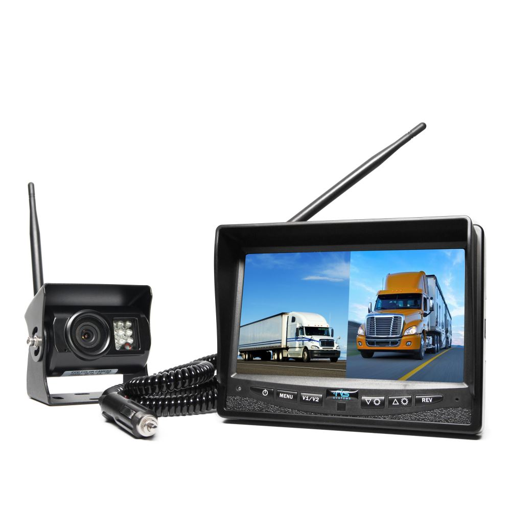 Rv Backup Camera >> Rear View Safety Wireless Backup Camera System - Dual Screen Monitor Rear View Safety Inc Backup ...