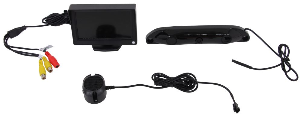 Rear View Safety Inc 4.3 Inch Display Backup Cameras and Alarms - RVS-5350-W