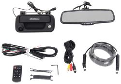 Rear View Safety Backup Camera System for Ford F-150 and F-250 Pickup Trucks