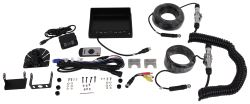 Rear View Safety Backup Camera System with Trailer Tow Quick Connect Kit
