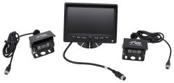 Rear View Safety Backup Camera System - 2 Camera Setup