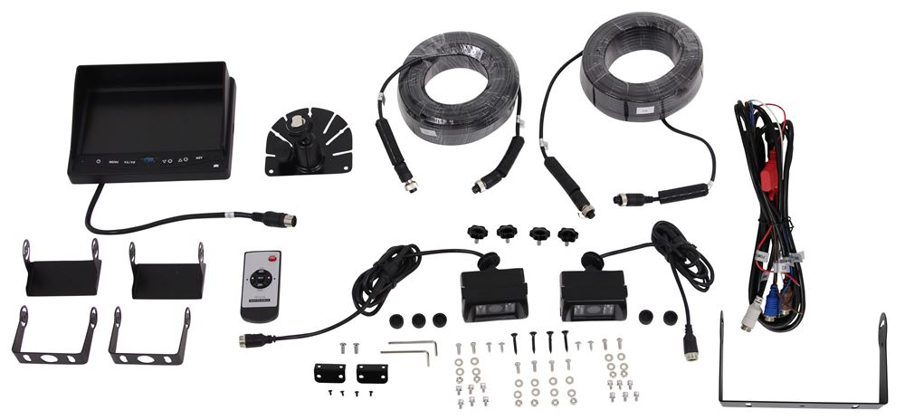 Backup Cameras and Alarms RVS-770614 - Standard Camera System - Rear View Safety Inc