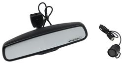 Rear View Safety Backup Camera System - Mirror with Monitor - Flush Mount Backup Camera