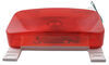 Underside of  Camping Travel Trailer Stop Turn and Tail Light with License Plate Light and Bracket
