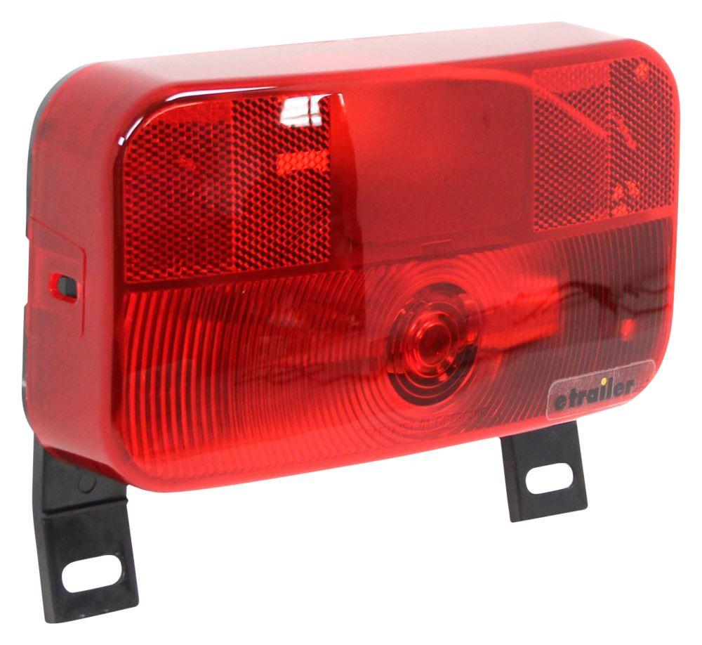 Trailer Tail Light Lens : Rv tail light stop turn license plate