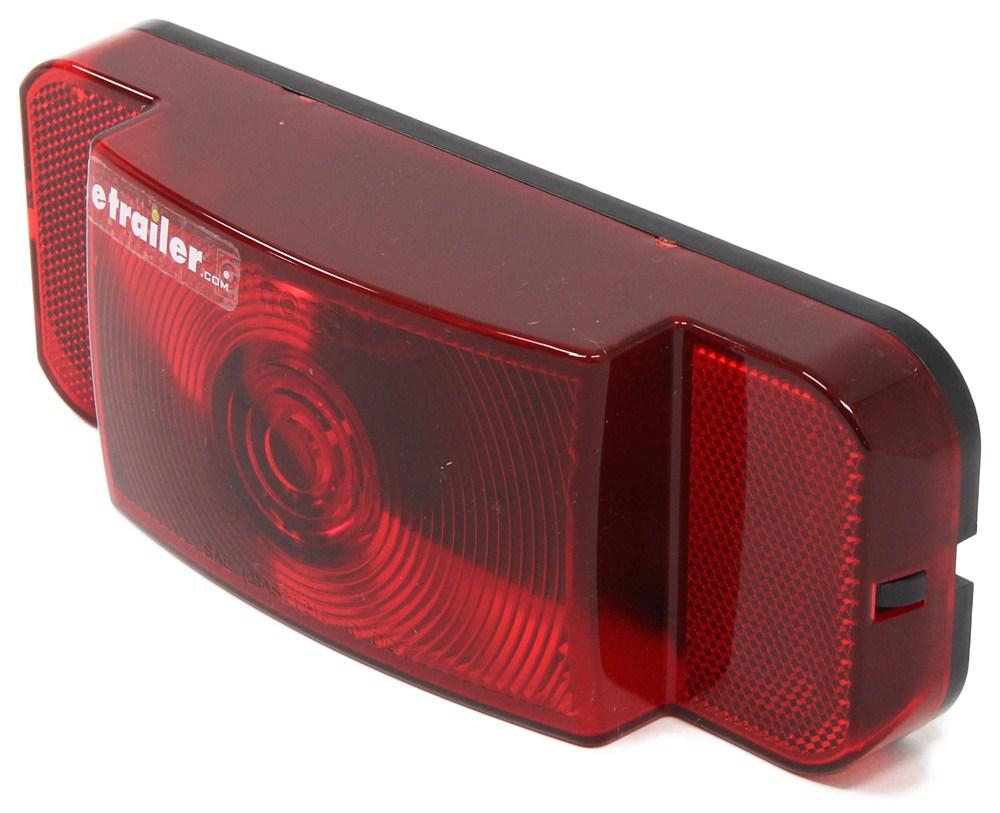 Trailer Tail Light Lens : Rv tail light stop turn rectangle red lens