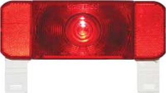 Low Profile RV Combination Tail Light w/ Mounting Bracket - 4 Function - 9 DIodes - Driver Side 8-1/2L x 3W Inch RVSTL61