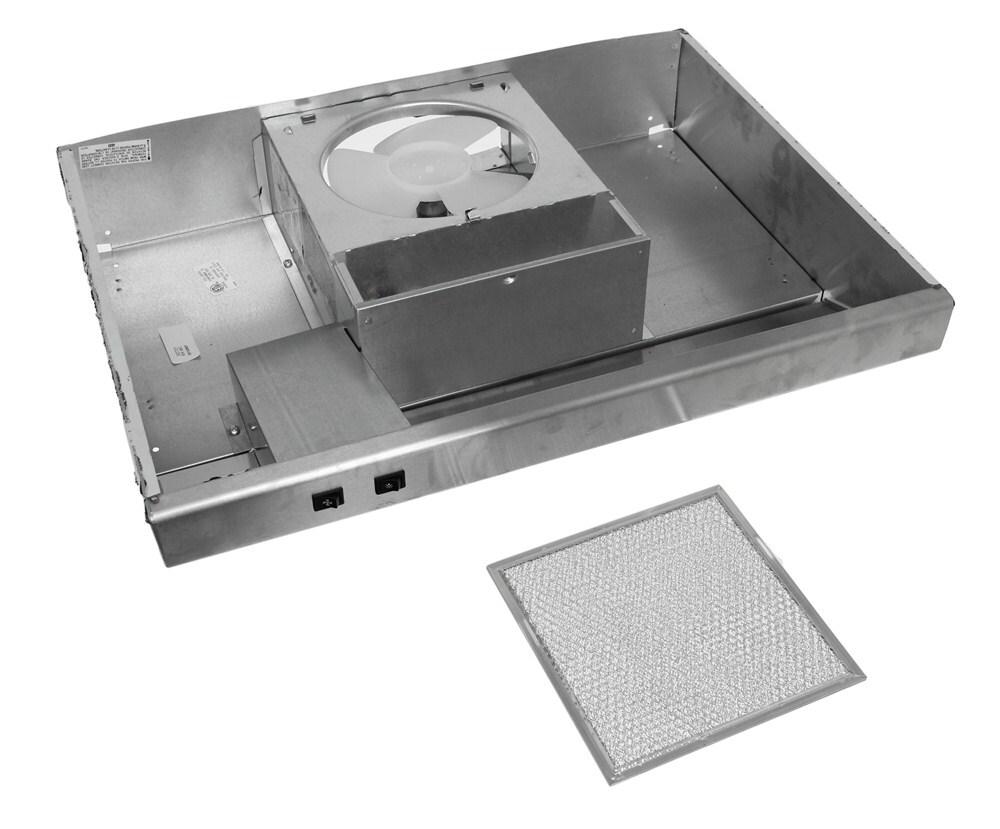 ventline s0721 series rv range hood w light 12v fan. Black Bedroom Furniture Sets. Home Design Ideas