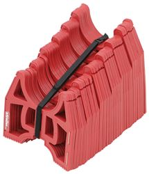 Slunky RV Sewer Hose Support System with Storage Strap - Collapsible - Red - 20' Long