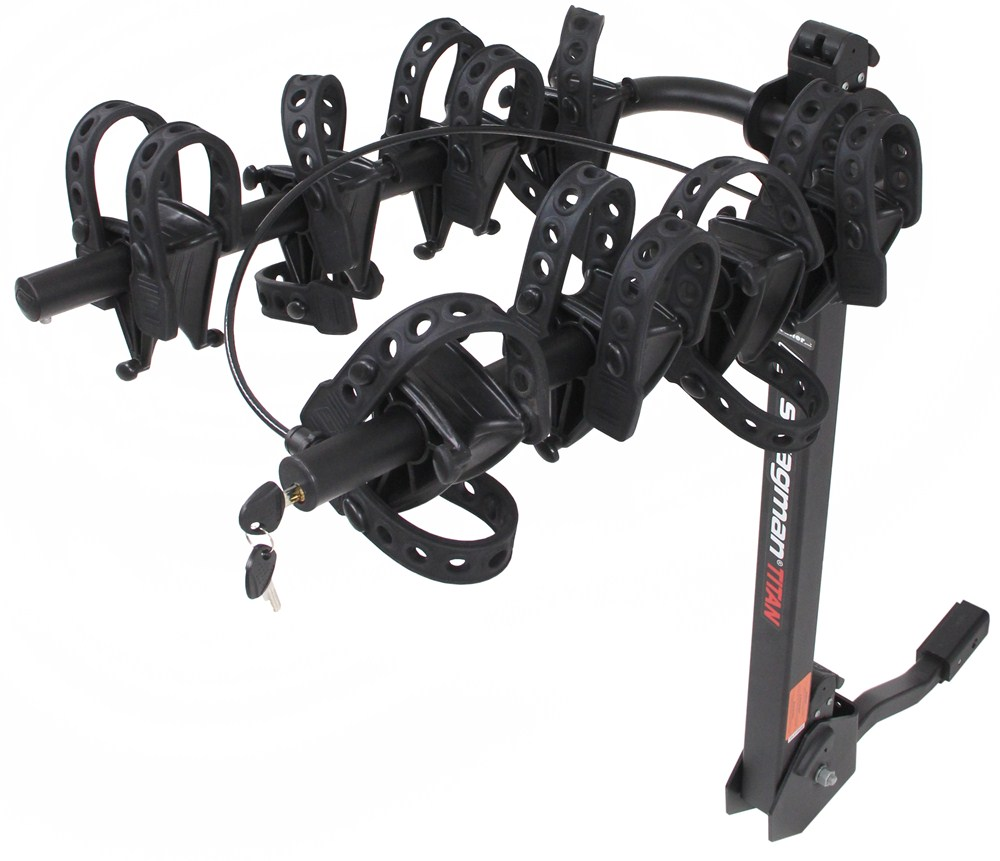 "Swagman Titan 4 Bike Rack For 1-1/4"" And 2"" Hitches"