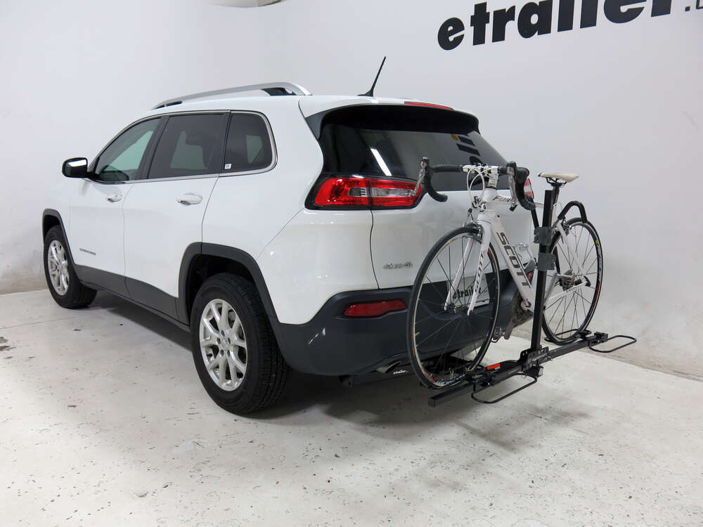 2016 jeep cherokee swagman xc 2 bike rack platform style for 1 1 4 and 2 trailer hitches. Black Bedroom Furniture Sets. Home Design Ideas