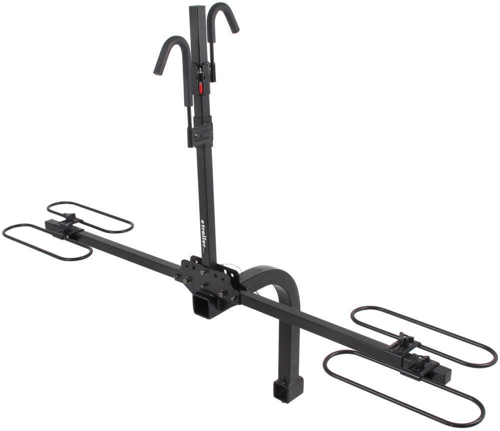 "Trailer Hitch Ball Sizes >> Swagman Traveler XCS - Platform-Style 2 Bike Rack for 2"" Ball Mount - Towing Swagman Hitch Bike ..."