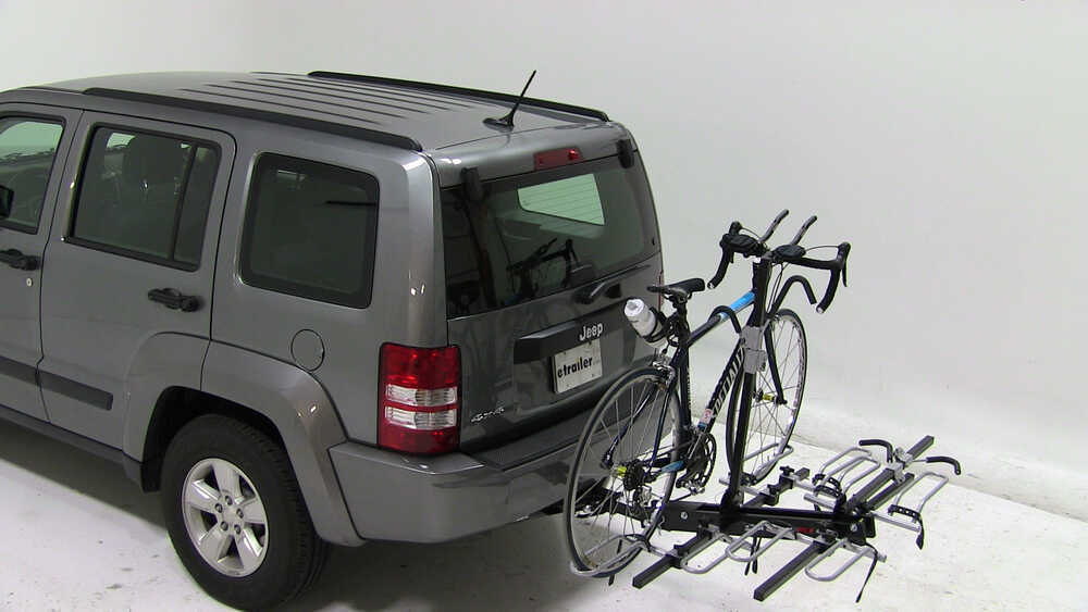 2006 jeep liberty swagman xtc4 4 bike rack for 2 hitches. Black Bedroom Furniture Sets. Home Design Ideas