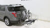 """Swagman XTC4 4-Bike Rack for 2"""" Hitches - Platform Style Fold-Up Rack S64665 on 2014 Ford Explorer"""