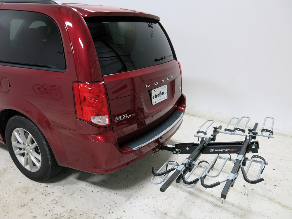 2015 dodge grand caravan swagman xtc4 4 bike rack for 2. Black Bedroom Furniture Sets. Home Design Ideas