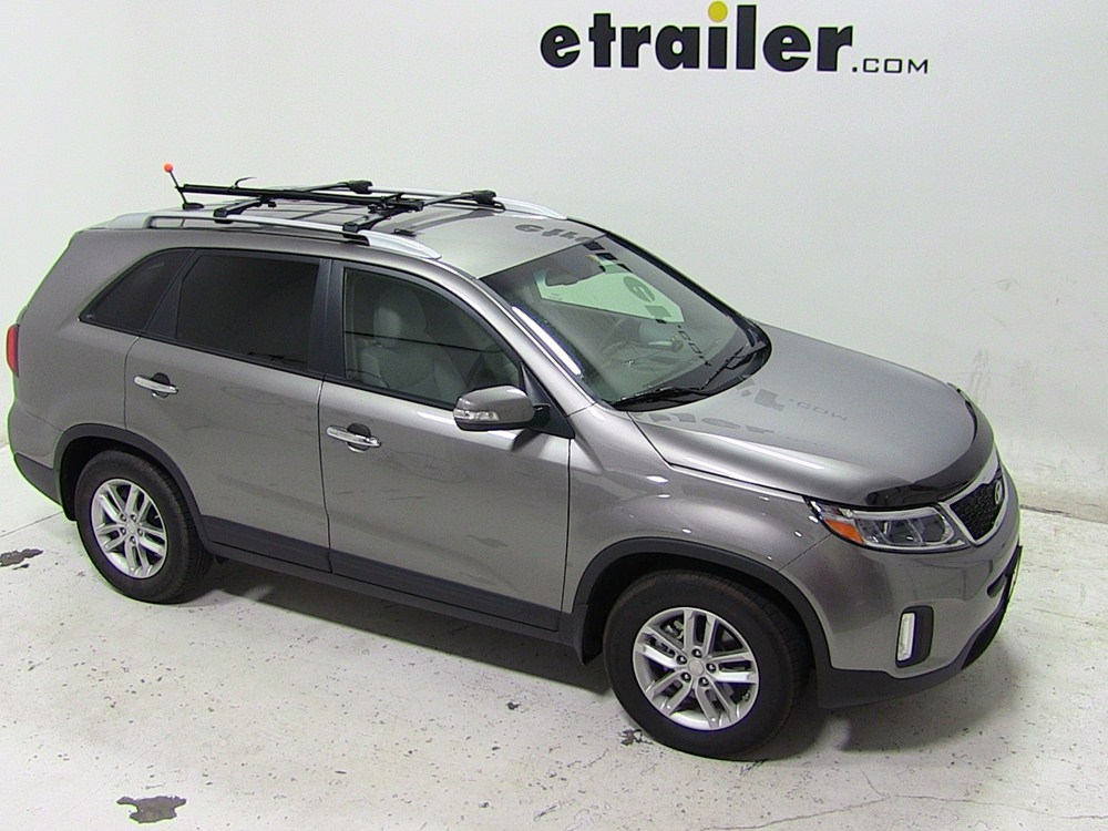 2014 kia sorento swagman fork down roof mounted bike. Black Bedroom Furniture Sets. Home Design Ideas