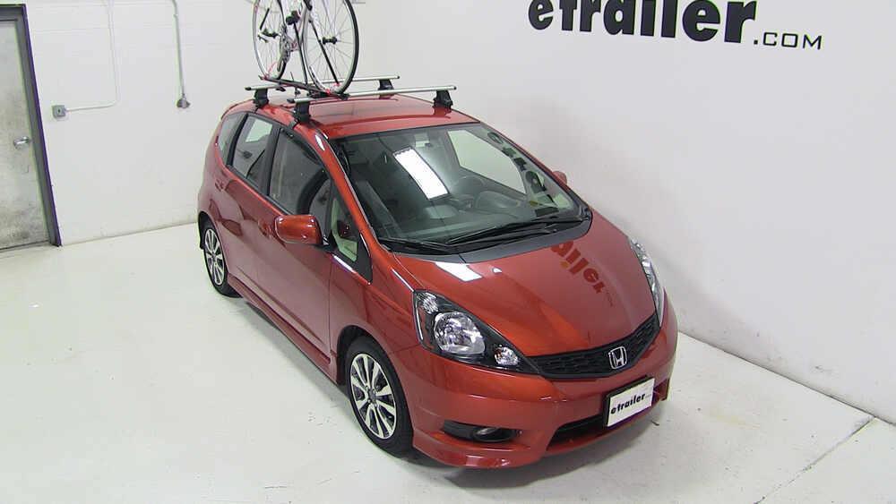 2012 Honda Fit Upright Roof Bike Carrier