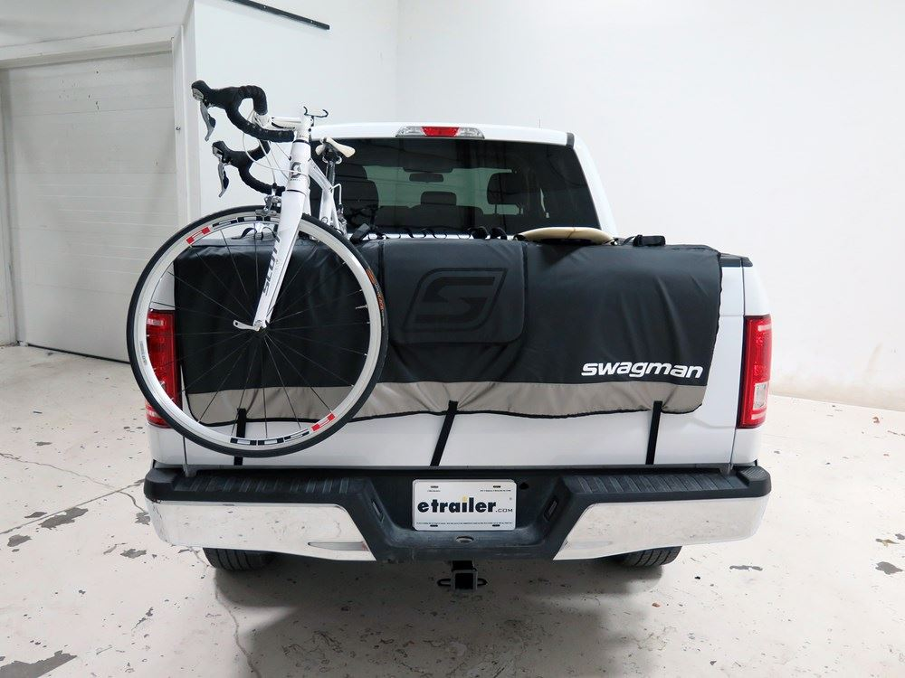 Swagman Tailwhip Tailgate Pad And Bike Rack For Full Size