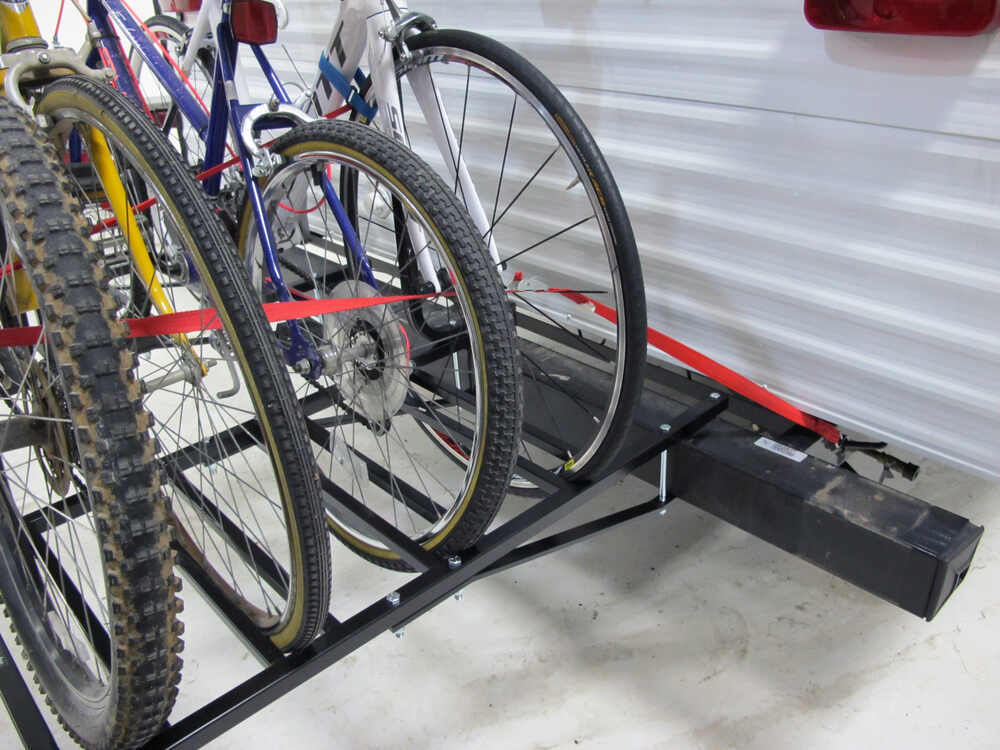 how to build a bike rack for a trailer