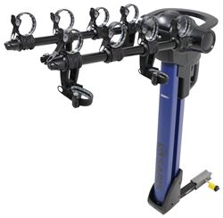 "Saris Glide EX 4 Bike Rack - 1-1/4"" and 2"" Hitches - Tilting - Blue"