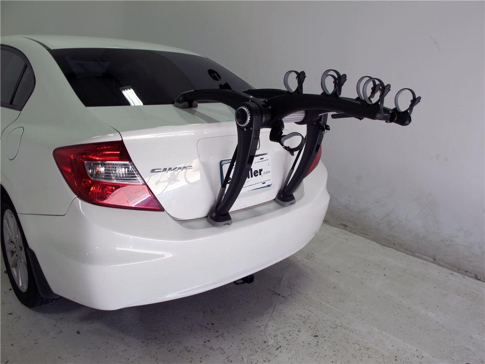 Honda Civic Saris Superbones 3 Bike Rack Trunk Mount