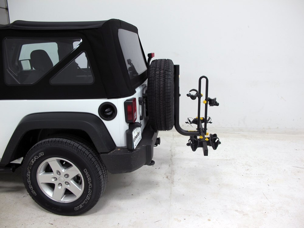 2016 jeep wrangler saris freedom 2 bike rack platform. Black Bedroom Furniture Sets. Home Design Ideas