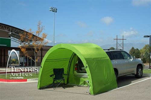 Let U0026 39 S Go Aero Archaus Tailgate Tent For 5 U0026 39  Hatches