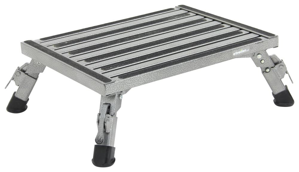 Safety Step Adjustable Height Folding Platform Step