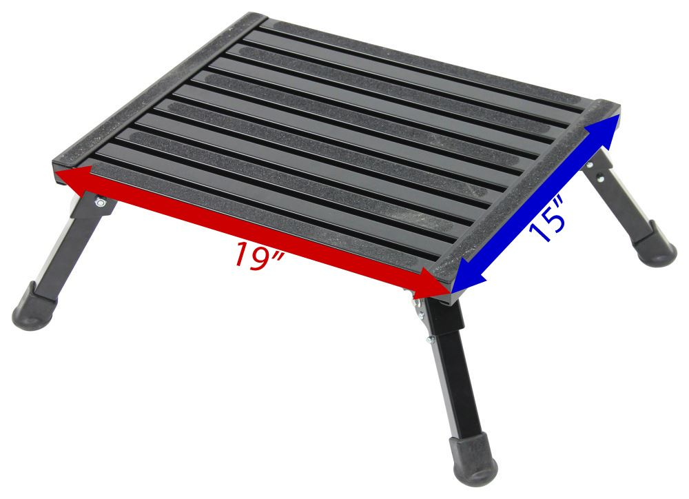 Safety Step Folding Platform Step Aluminum 19 Quot Long X