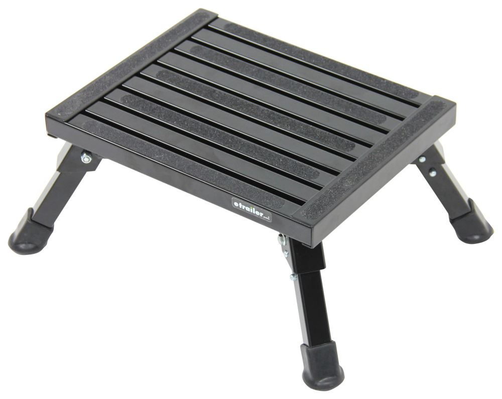 Safety Step RV and Camper Steps - SASS-07C-BLK